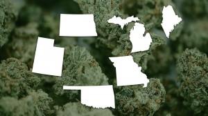marijuana states, Red & Swing States Warming Up to Marijuana