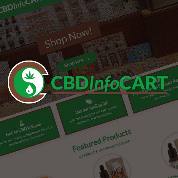 CBD Info Cart