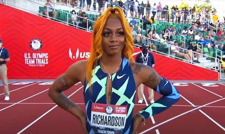 Olympics Hopeful Sha'Carri Richardson Suspended for Cannabis